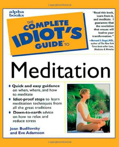 9780028629070: The Complete Idiot's Guide to Meditation