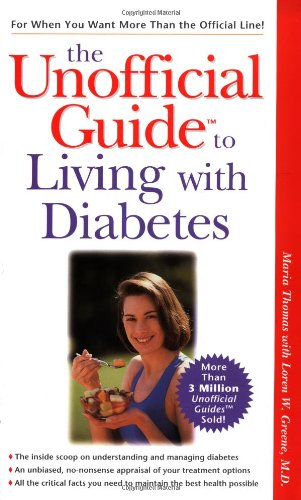 9780028629193: The Unofficial Guide to Living with Diabetes