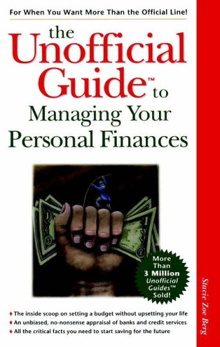 9780028629216: The Unofficial Guide to Managing Your Personal Finances