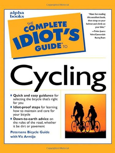 9780028629292: The Complete Idiot's Guide to Cycling