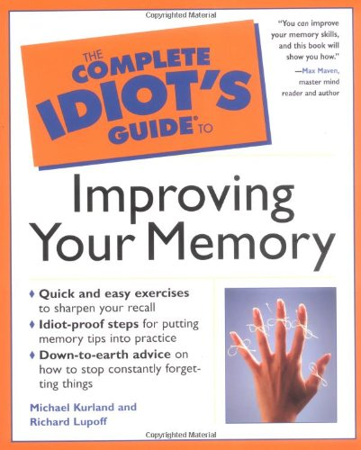 9780028629490: The Complete Idiot's Guide to Improving Your Memory