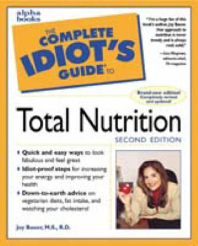 9780028629568: Complete Idiot's Guide to Total Nutrition
