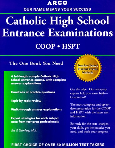 9780028630380: Catholic High School Entrance Examinations (Catholic High School Entrance Examinations, 10th ed)