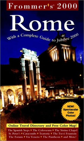 9780028630700: Frommer's 2000 Rome (Frommer's Complete Guides)
