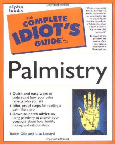 9780028631134: The Complete Idiot's Guide to Palmistry