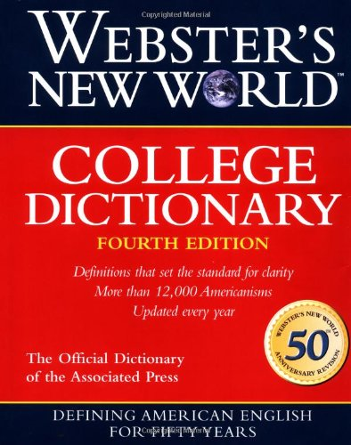 9780028631196: Webster's New World College Dictionary
