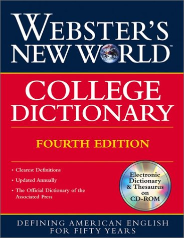 9780028631219: Webster's New World College Dictionary: Thumb-Indexed