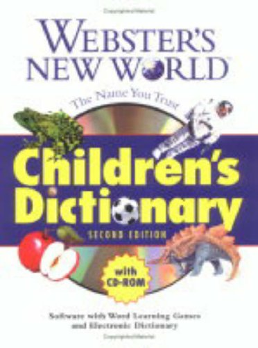 9780028631257: Webster's New World Children's Dictionary with CD-ROM