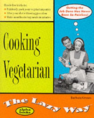 9780028631585: Cooking Vegetarian: The Lazy Way (Macmillan Lifestyles Guide)