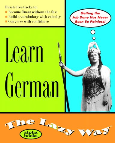 9780028631653: Learn German the Lazy Way