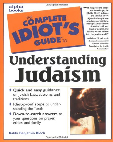 9780028631912: The Complete Idiot's Guide to Understanding Judaism