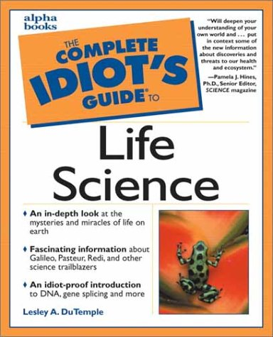 9780028631998: Complete Idiot's Guide to Life Science