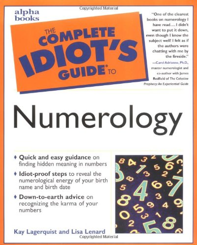 9780028632018: The Complete Idiot's Guide to Numerology