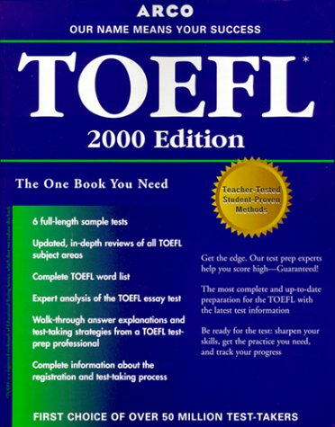 9780028632193: Arco Everything You Need to Score High on the Toefl 2000 (Master the Toefl)