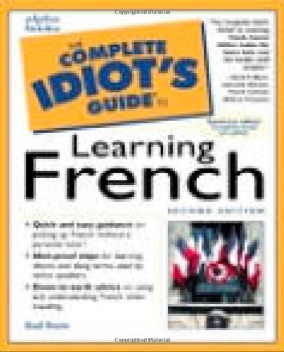 9780028632292: The Complete Idiot's Guide to Learning French (2nd Edition)