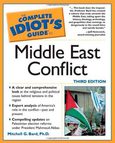 9780028632612: The Complete Idiot's Guide to Middle East Conflict