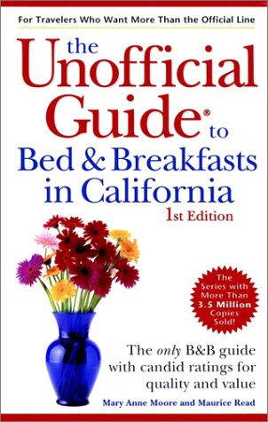 9780028632674: The Unofficial Guide to Bed & Breakfasts in California