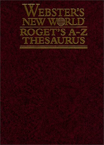 9780028632810: Webster's New World Roget's A-Z Thesaurus