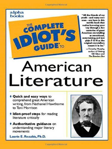 9780028633787: The Complete Idiot's Guide to American Literature
