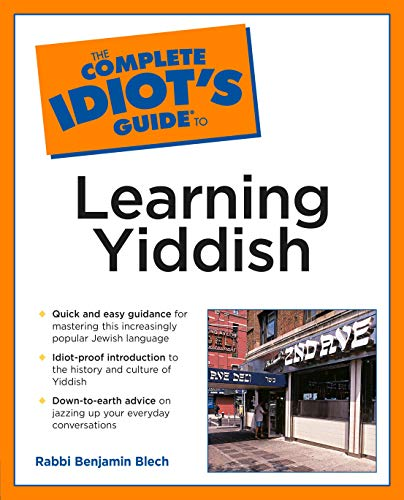 9780028633879: Complete Idiot's Guide to Learning Yiddish