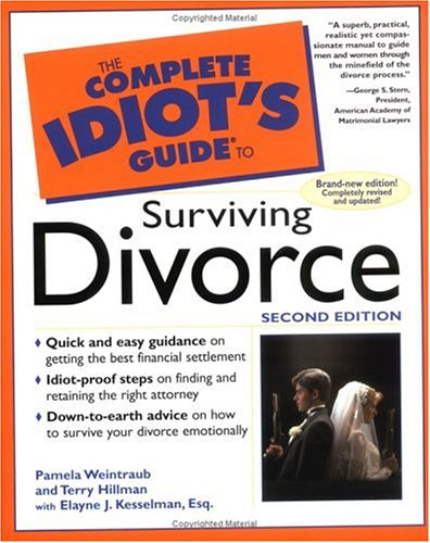 9780028633923: The Complete Idiot's Guide to Surviving Divorce