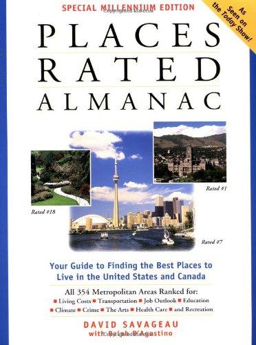 9780028634470: Places Rated Almanac (Special Millennium Edition)