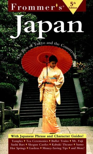 9780028634524: Frommer's Japan: The Best of Tokyo and the Countryside