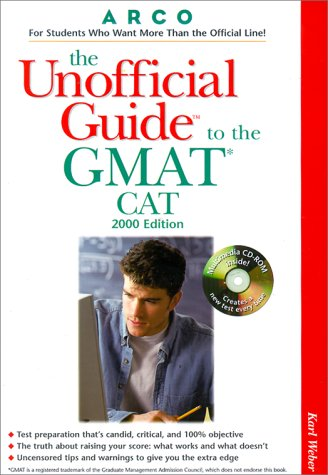 9780028634593: UG/The GMAT CAT W/ CD ROM 2000 (Unofficial Guides)