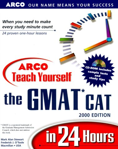 9780028634616: Arco Teach Yourself the Gmat Cat in 24 Hours: 2000 Edition