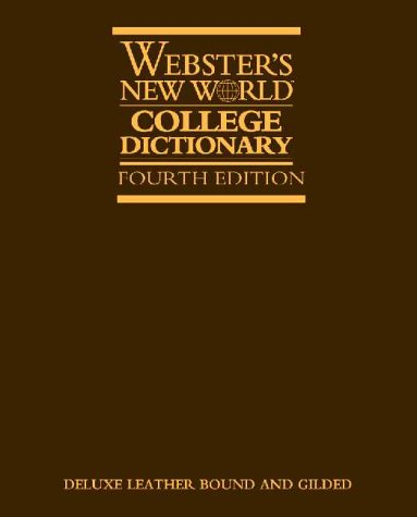 9780028634715: Webster's New World College Dictionary: Leather-bound Edition
