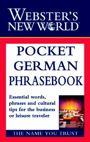 9780028634821: Pocket German Phrasebook (Webster's New World)