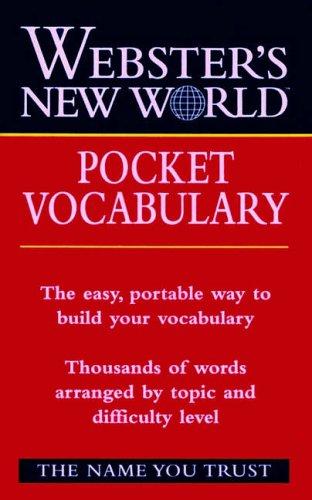 9780028634869: Webster's New Worldo Pocket Vocabulary