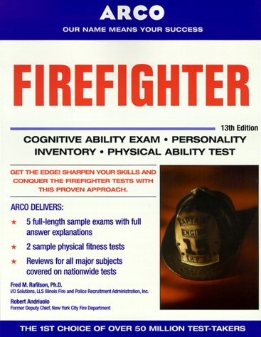 9780028635378: Master the Firefighter Exam, 13/e (Arco Master the Firefighter)