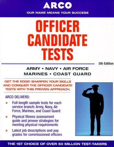 9780028635439: Officer Candidate 5e (Officer Candidate Tests)