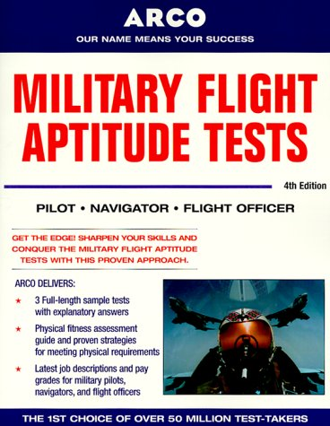 9780028635446: Military Flight Aptitude Tests, 4/e