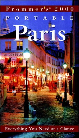 9780028635484: Frommer's Portable Paris 2000