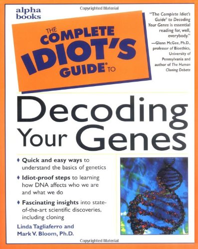 9780028635866: The Complete Idiot's Guide to Decoding Your Genes