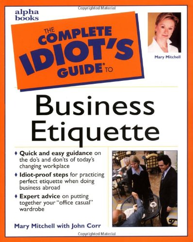 9780028636153: The Complete Idiot's Guide to Business Etiquette