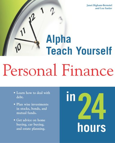 9780028636191: Alpha Teach Yourself Personal Finance in 24 Hours