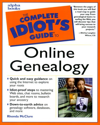 9780028636351: The Complete Idiot's Guide to Online Genealogy