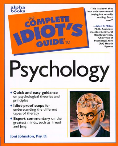 9780028636382: The Complete Idiot's Guide to Psychology