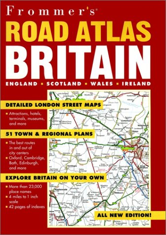 9780028636863: Frommer's Road Atlas Britain