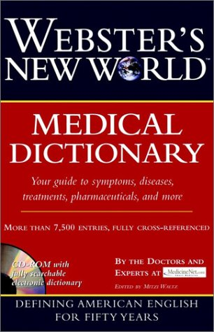 9780028637341: Webster's New World Medical Dictionary