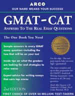 9780028637358: Gmat-Cat : Answers to the Real Essay Questions