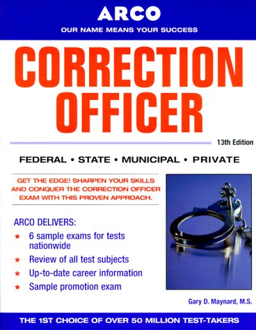 9780028637365: Correction Officer 13/e (Peterson's Master the Correction Officer)