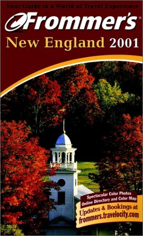 9780028637839: Frommer's New England 2001