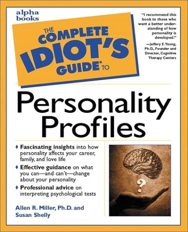 9780028638157: The Complete Idiot's Guide to Personality Profiles