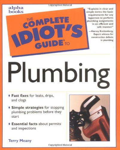 9780028638935: Complete Idiot's Guide to Plumbing