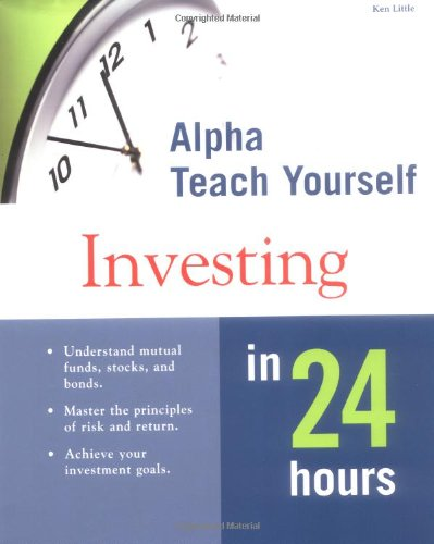 9780028638980: Alpha Teach Yourself Investing in 24 Hours