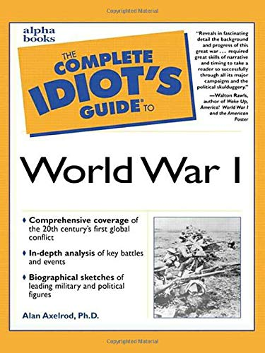 9780028639024: Complete Idiot's Guide to World War I